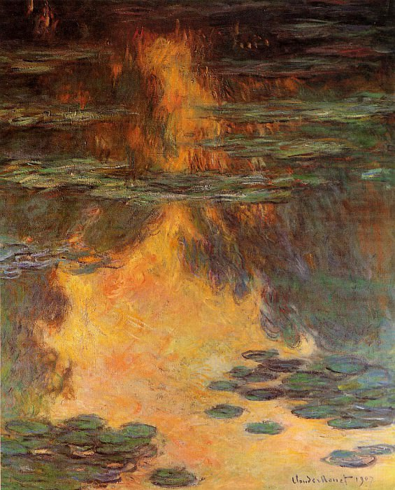 Water Lilies, 1907 14. Claude Oscar Monet