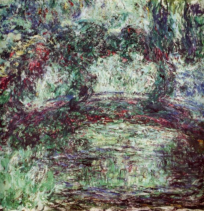 The Japanese Bridge 2. Claude Oscar Monet
