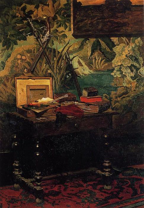 Corner of a Studio. Claude Oscar Monet