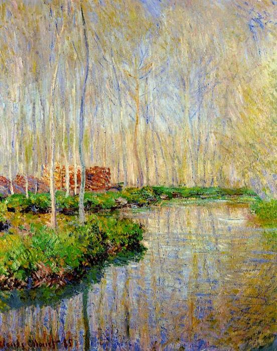 The River Epte. Claude Oscar Monet