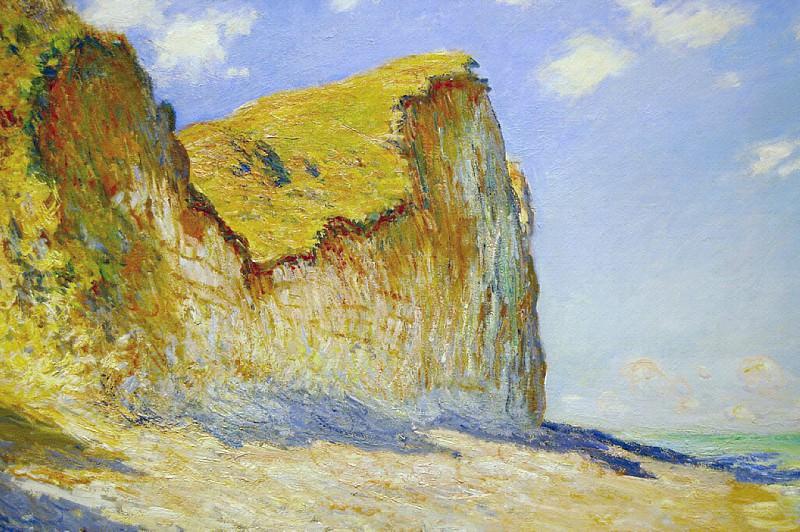 Cliffs near Pourville, 1882 8. Claude Oscar Monet