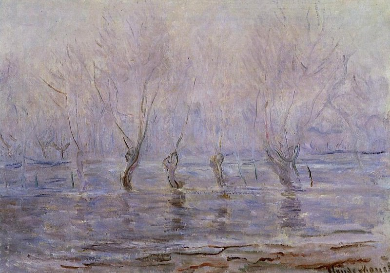 Flood at Giverny. Claude Oscar Monet