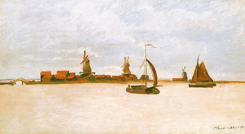 The Voorzaan. Claude Oscar Monet