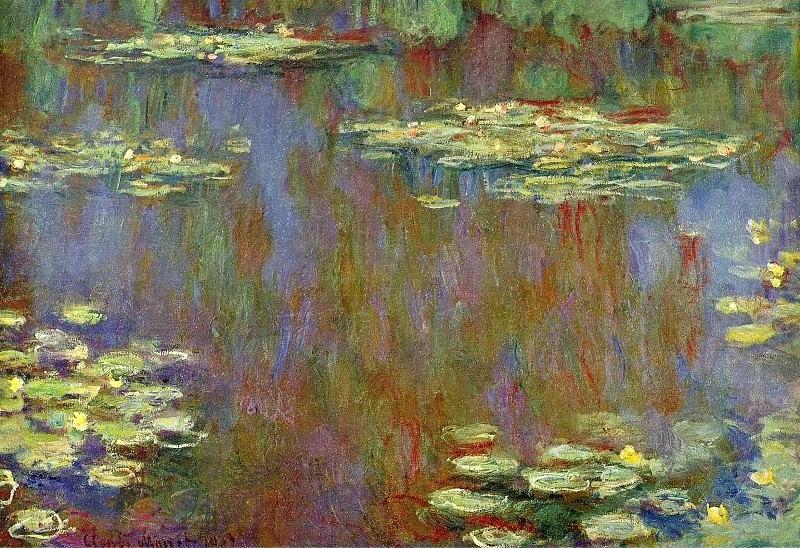 Water Lilies, 1906-07 01. Claude Oscar Monet
