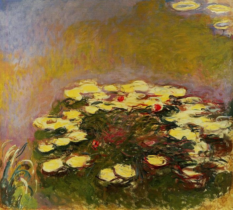 Water Lilies, 1914-17 02. Claude Oscar Monet