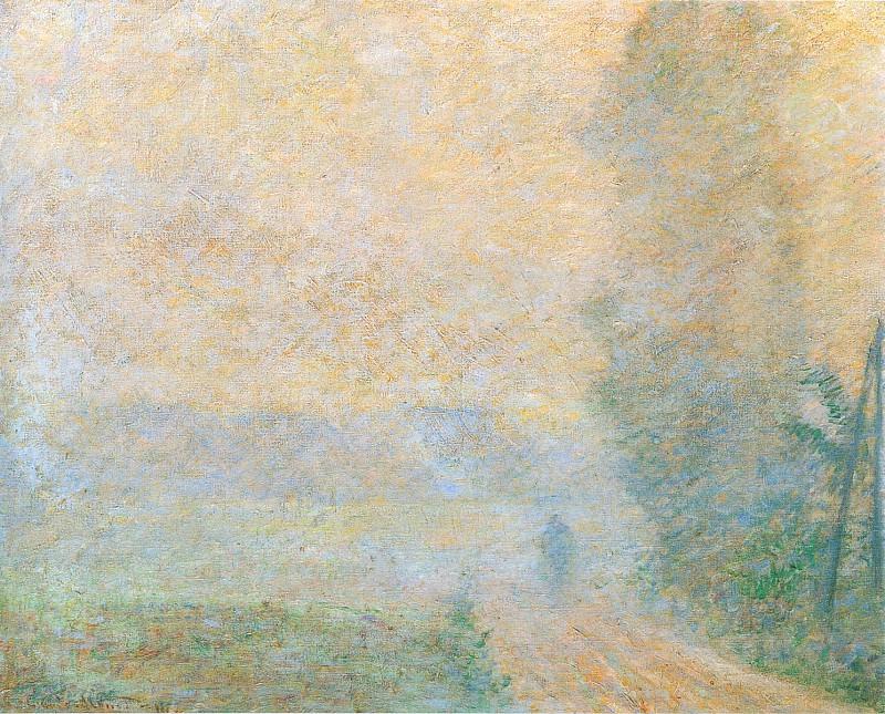 Path in the Fog. Claude Oscar Monet