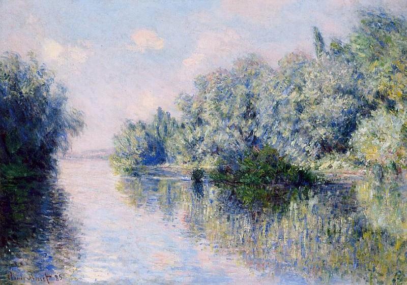 The Seine near Giverny. Claude Oscar Monet