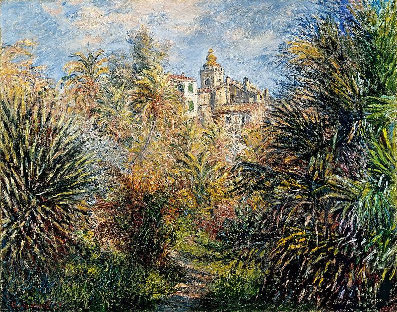 The Moreno Garden at Bordighera. Claude Oscar Monet