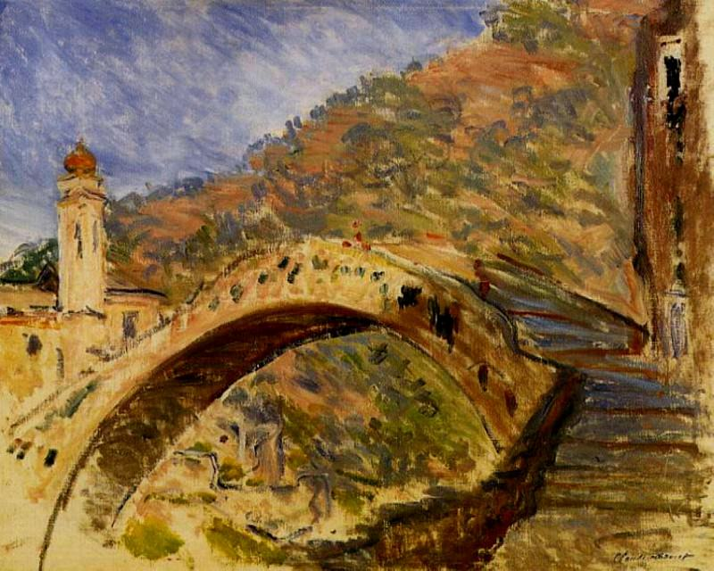 Dolceacqua, Bridge. Claude Oscar Monet