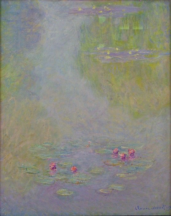 Water Lilies, 1908 05. Claude Oscar Monet