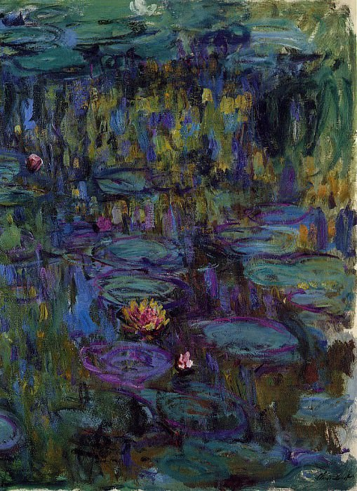 Water Lilies, 1914-17 08. Claude Oscar Monet
