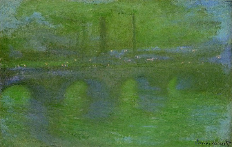 Waterloo Bridge, Dawn. Claude Oscar Monet