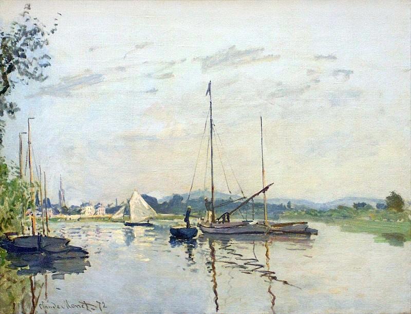 Argenteuil. Claude Oscar Monet