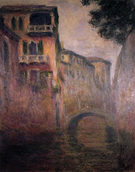 Rio della Salute 02. Claude Oscar Monet