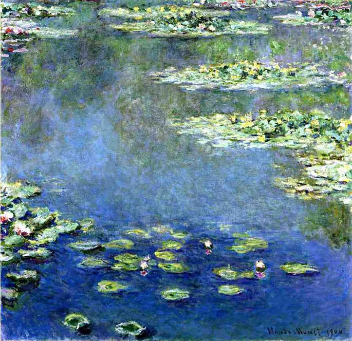 Water Lilies. Claude Oscar Monet