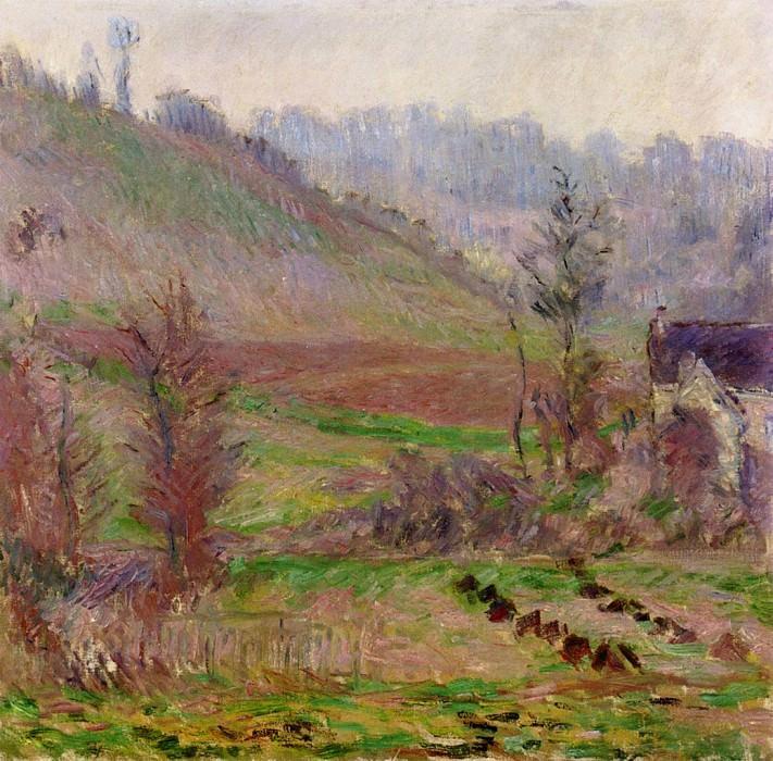 Val de Falaise. Клод Оскар Моне