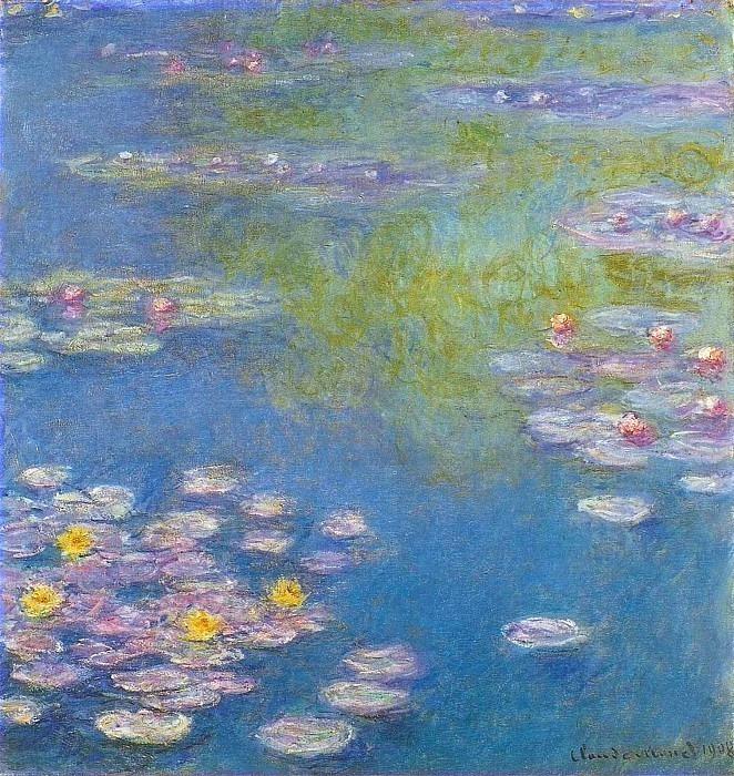 Water Lilies, 1908 01. Claude Oscar Monet