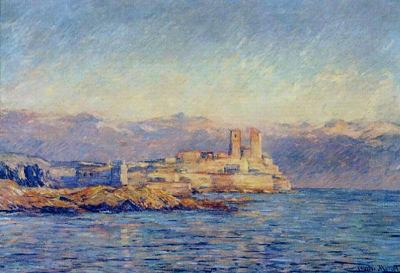 The Castle in Antibes. Claude Oscar Monet