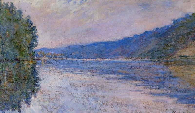 The Seine at Port-Villez. Claude Oscar Monet