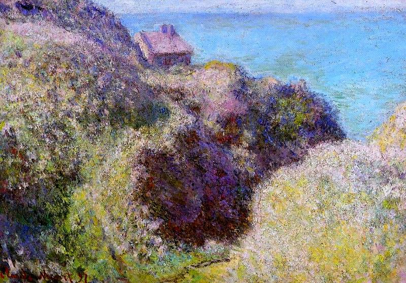 The Gorge at Varengeville, Late Afternoon. Claude Oscar Monet
