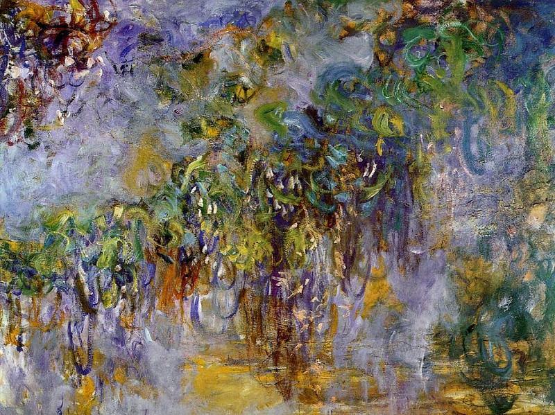 Winteria (right half). Claude Oscar Monet
