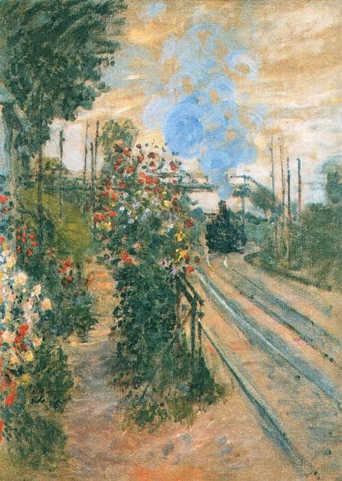 Arriving at Montegeron. Claude Oscar Monet