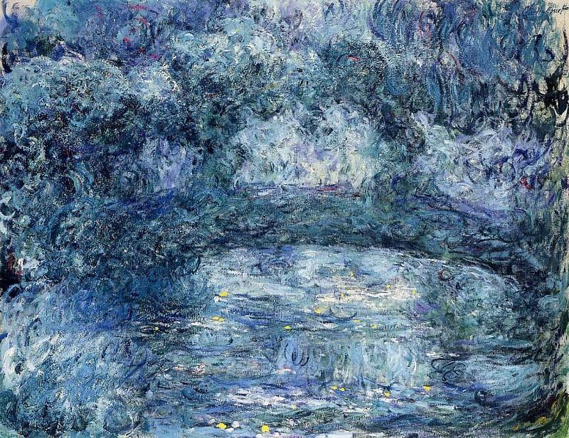 The Japanese Bridge 3. Claude Oscar Monet