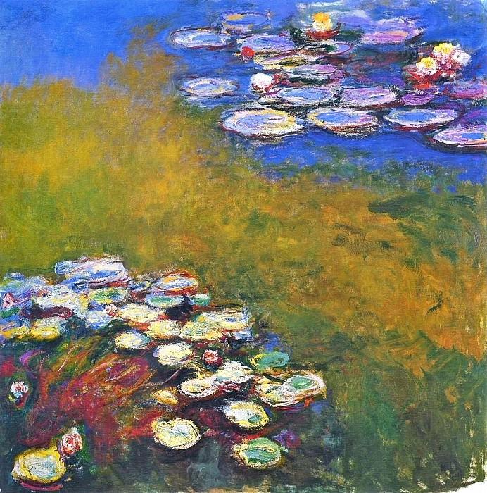 Water Lilies, 1914-17 04. Клод Оскар Моне