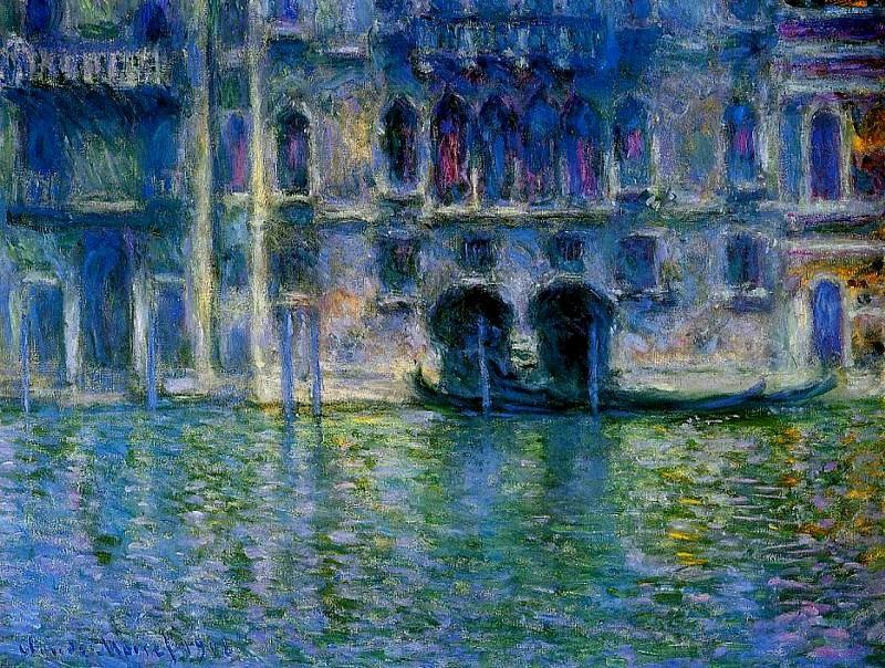 Palazzo da Mulla 2. Claude Oscar Monet