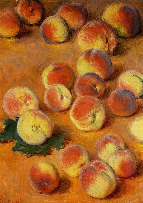 Peaches. Claude Oscar Monet
