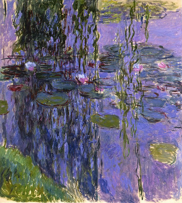 Water Lilies, 1916-19 05. Claude Oscar Monet