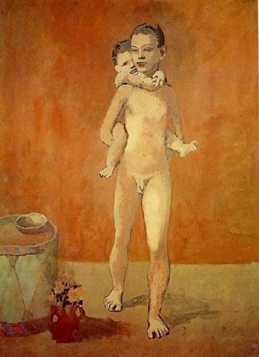 1906 Les deux frКres2. Pablo Picasso (1881-1973) Period of creation: 1889-1907