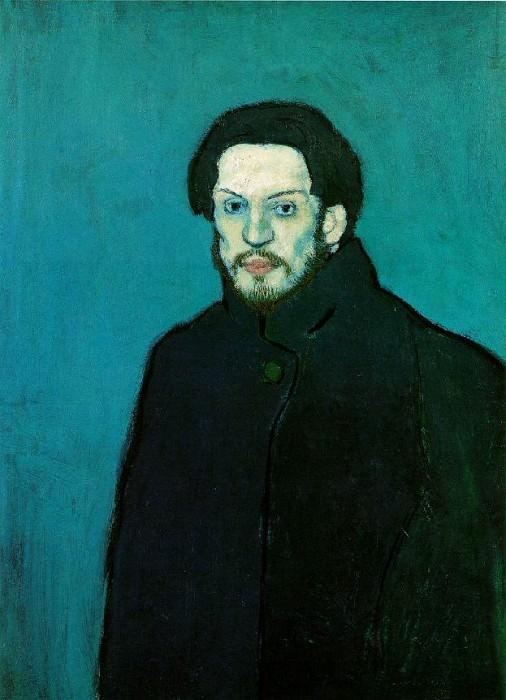 1901 Autoportrait3. Pablo Picasso (1881-1973) Period of creation: 1889-1907