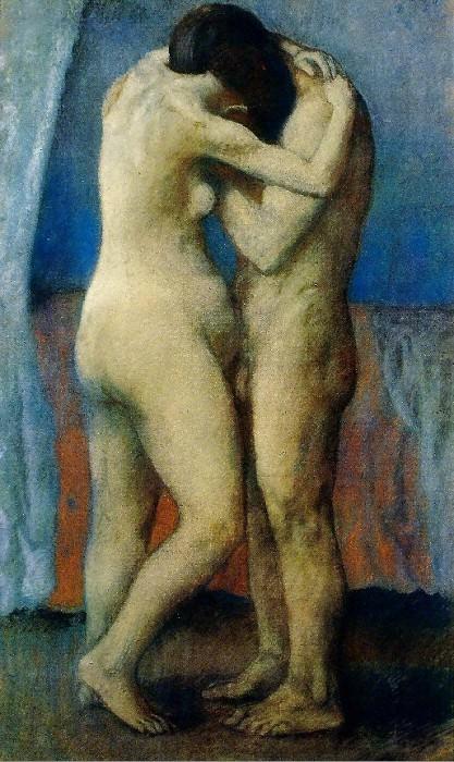 1903 LВtreinte. Пабло Пикассо (1881-1973) Период: 1889-1907
