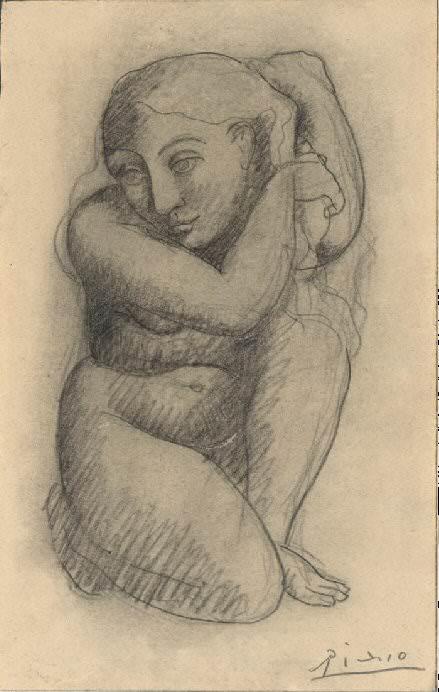 1905 La coiffure. Pablo Picasso (1881-1973) Period of creation: 1889-1907 (Рtude)