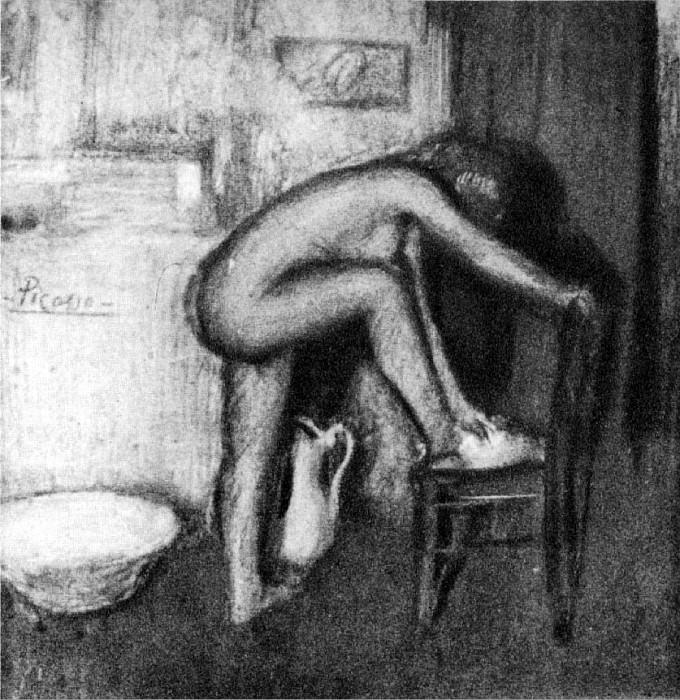 1901 La toilette. Pablo Picasso (1881-1973) Period of creation: 1889-1907