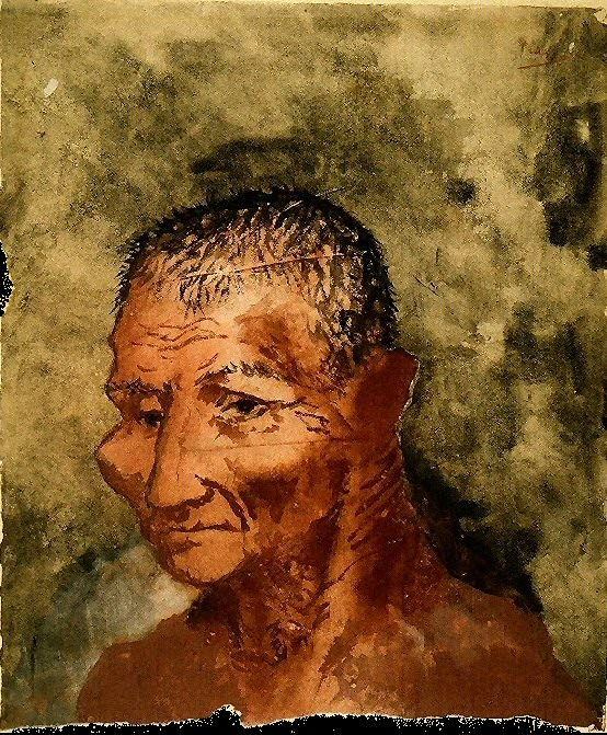 1906 TИte de Josep Fondevila. Пабло Пикассо (1881-1973) Период: 1889-1907