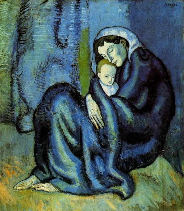 1901 MКre et enfant1. Pablo Picasso (1881-1973) Period of creation: 1889-1907