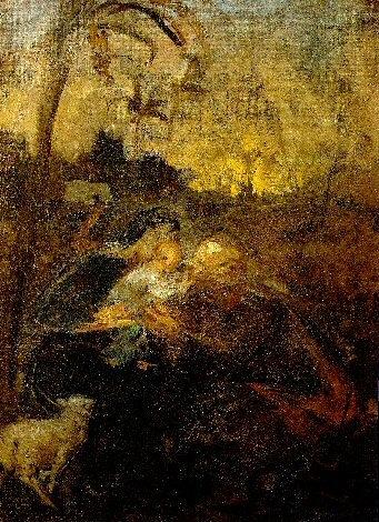 1895 Repos pendant le voyage en Egypte. Пабло Пикассо (1881-1973) Период: 1889-1907