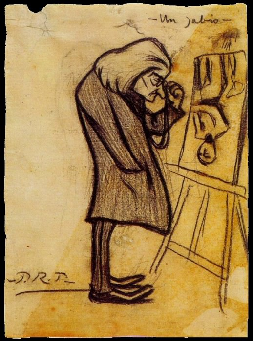 1899 Le sage. Pablo Picasso (1881-1973) Period of creation: 1889-1907