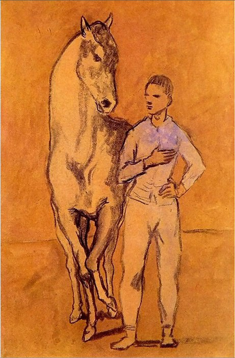 1906 Jeune homme et cheval. Pablo Picasso (1881-1973) Period of creation: 1889-1907