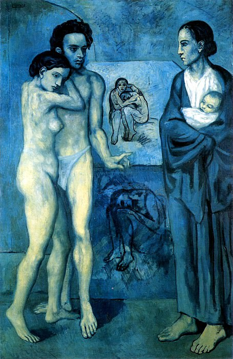 1903 La vie. Pablo Picasso (1881-1973) Period of creation: 1889-1907