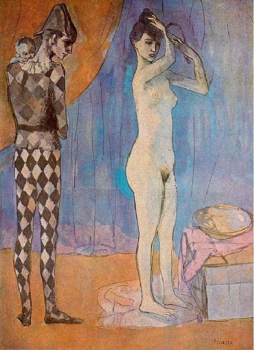 1905 La famille darlequin. Pablo Picasso (1881-1973) Period of creation: 1889-1907