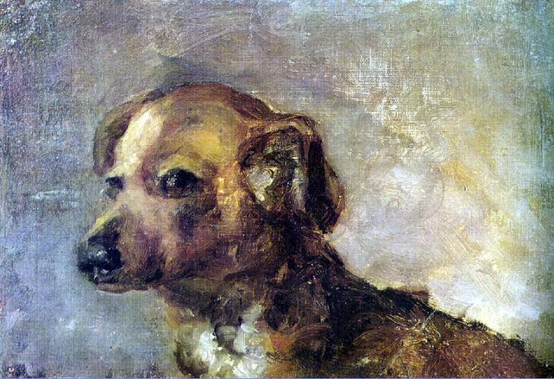 1895 Clipper, le chien de Picasso. Pablo Picasso (1881-1973) Period of creation: 1889-1907