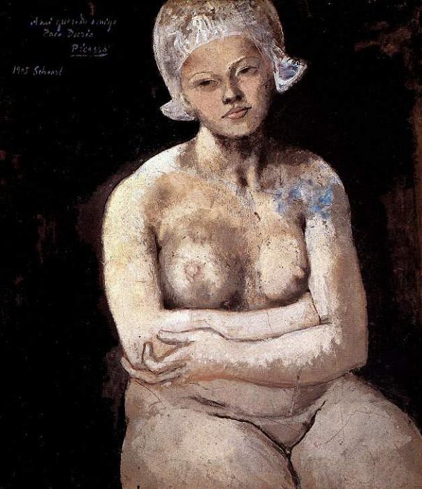 1905 La belle Hollandaise. JPG. Pablo Picasso (1881-1973) Period of creation: 1889-1907
