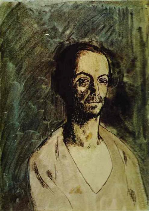1904 Le sculpteur catalan Manolo (Manuel HuguВ). Пабло Пикассо (1881-1973) Период: 1889-1907