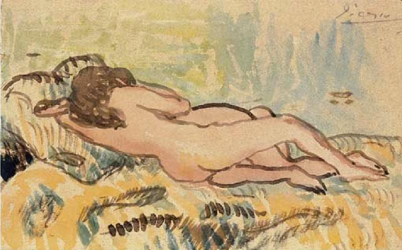 1902 LВtreinte. Pablo Picasso (1881-1973) Period of creation: 1889-1907