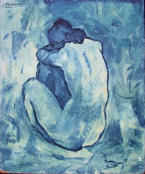 1902 femme nue 1. Пабло Пикассо (1881-1973) Период: 1889-1907