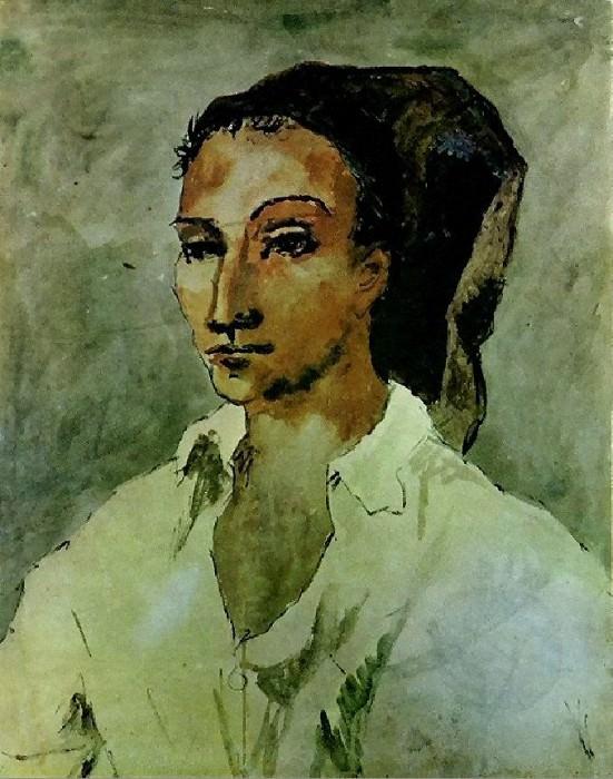 1906 Jeune espagnol. Pablo Picasso (1881-1973) Period of creation: 1889-1907
