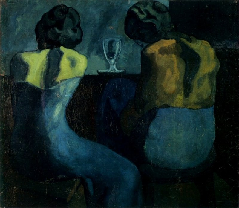 1902 Pierreuses au bar. Pablo Picasso (1881-1973) Period of creation: 1889-1907